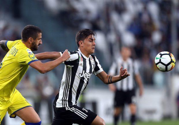 Juventus-Chievo 3-0, bianconeri a punteggio pieno ed in vetta alla classifica