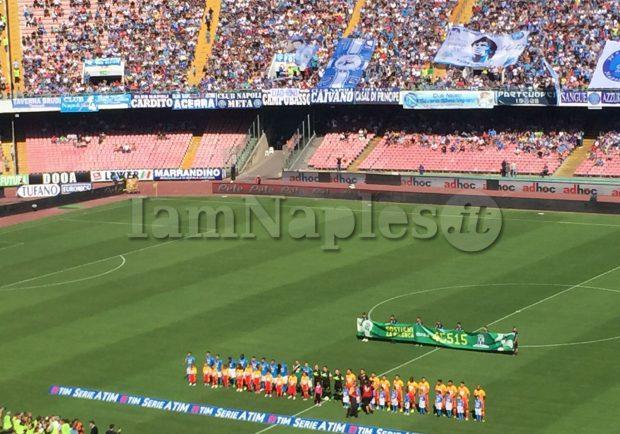 RILEGGI IL LIVE – Napoli-Benevento 6-0, tripletta di Mertens. A segno tutto il tridente azzurro