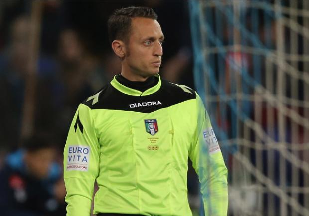Gli arbitri del diciannovesimo turno di Serie A: Abisso dirigerà Napoli-Verona
