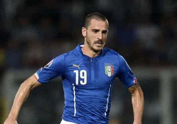 """Italia, Bonucci: """"Il play-off con la Svezia sarà duro, ma noi siamo l'Italia e mancare la qualificazione ai Mondiali non è un'opzione"""""""