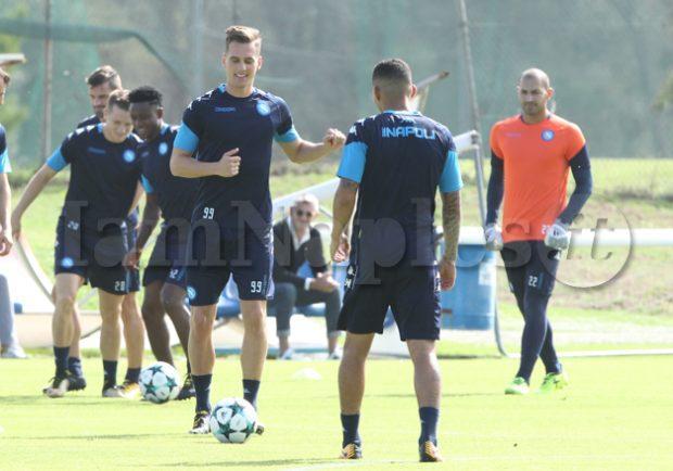 VIDEO LIVE – Champions League, allenamento mattutino per il Napoli in vista dell'esordio contro lo Shakhtar