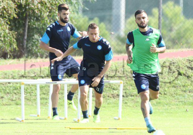 FOTO – Ultimo allenamento per gli azzurri prima della partenza per Ferrara