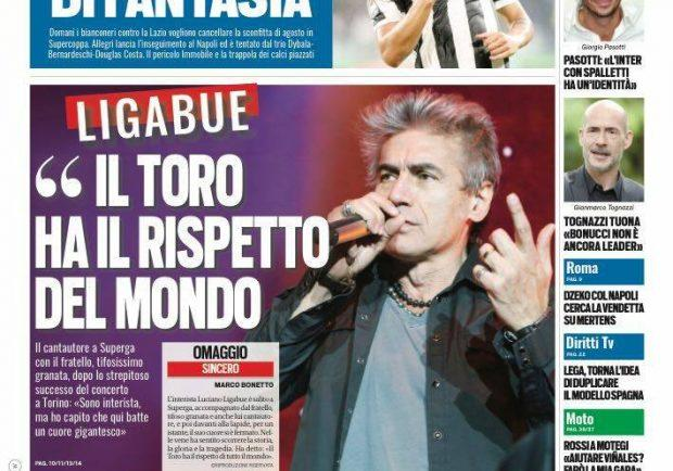 "FOTO – Tuttosport: ""Dzeko cerca la vendetta con Mertens"""