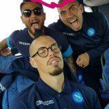 """FOTO – Sepe su Instagram prende in giro Hamsik che dorme: """"De Bruyne, Sterling, Walker…"""""""