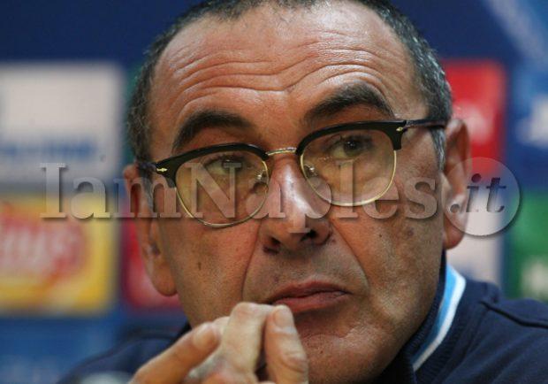 """RILEGGI IL LIVE – Sarri in conferenza stampa: """"Disputata una Champions deludente, abbiamo un problema in attacco…"""""""