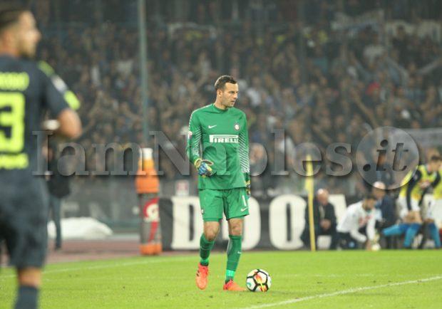 """Handanovic risponde a Sarri: """"Non giochiamo un altro sport. La Juve ha due squadre"""""""