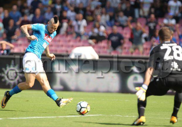 """Hamsik dopo il pari con il Chievo: """"Peccato aver perso punti, abbiamo dominato ma non è bastato"""""""