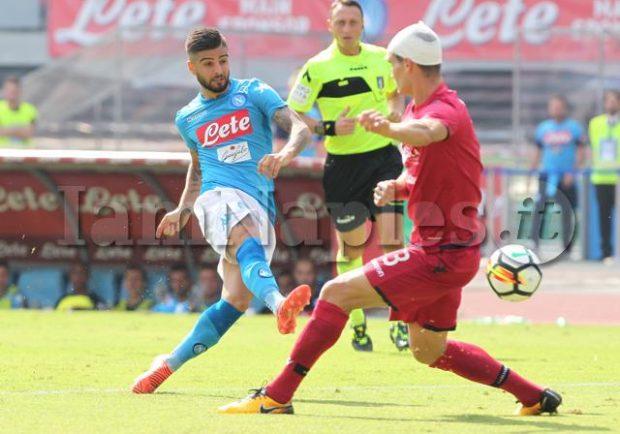 GRAFICO – Napoli-Inter: ottimismo per Insigne, tornano Allan e Jorginho