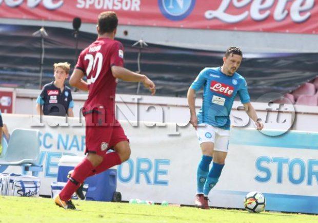GRAFICO – Chievo Verona-Napoli: debutto dal 1′ per Mario Rui, Reina dovrebbe farcela