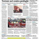 """FOTO -L'apertura de Il Mattino: """"Insigne e Jorginho antidoti alla Grande Bruttezza"""""""