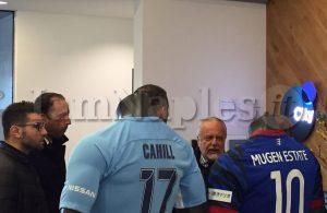 FOTO ESCLUSIVE – Youth League, alla Football Academy del City c'è anche il presidente De Laurentiis