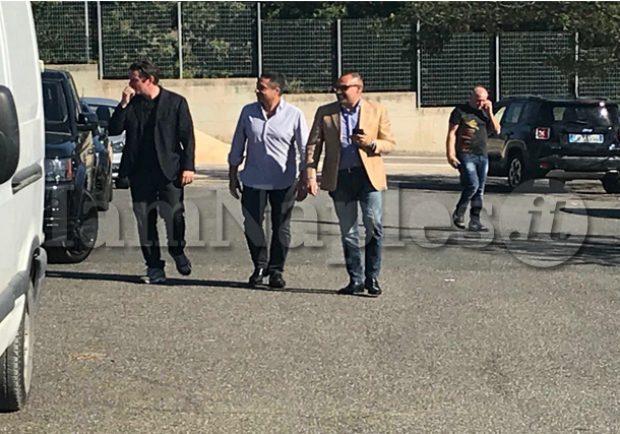 FOTO – Primavera, Lazio-Napoli: presenti allo stadio anche Lombardo, Camerota e Pompilio