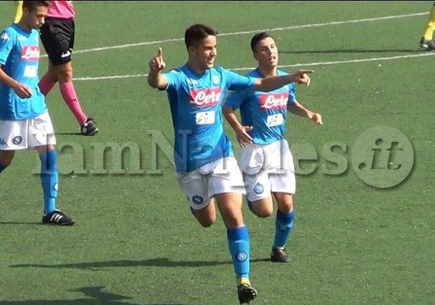 Italia U.15 Blu-Italia U.15 Bianca 2-2, a segno i due azzurrini Pesce e Scognamiglio
