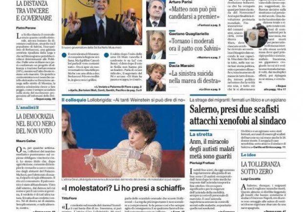 """FOTO – Il Mattino titola: """"Napoli, i rinforzi da prendere e utilizzare"""""""