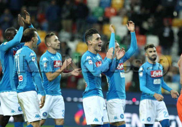 FOTO – Napoli-Atalanta, la formazione azzurra: Mertens out, tridente offensivo con Zielinski e Ounas