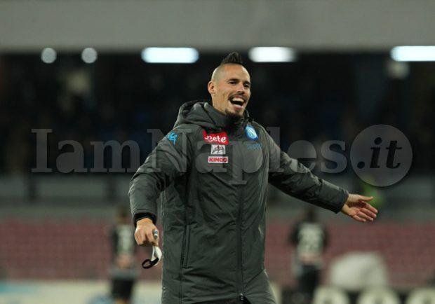 VIDEO – Dalla Sampdoria alla Sampdoria: Hamsik supera Maradona ed entra nella storia