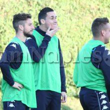 Ultime da Castelvolturno – Napoli, squadra divisa in due gruppi, Mario Rui ha lavorato regolarmente con la squadra