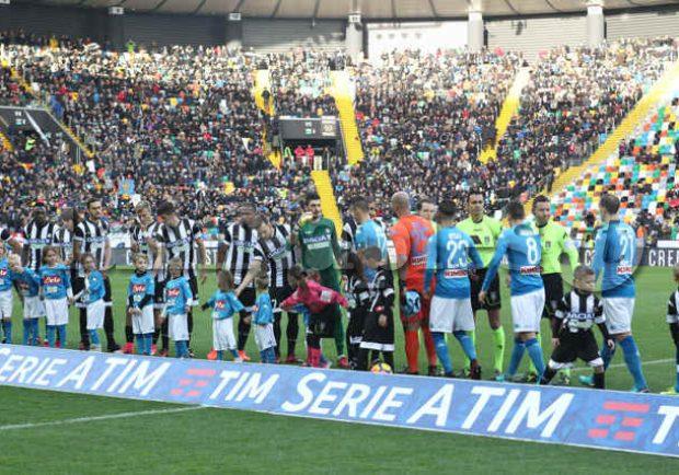 """Pres. club Napoli Udine: """"Settore ospiti aperto ai residenti in Campania"""""""