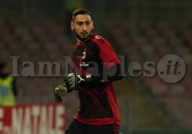 """Donnarumma: """"Sono tifoso del Milan, il mio idolo da bambino era Christian Abbiati"""""""