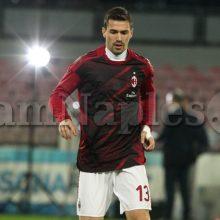 """Romagnoli: """"Milan? Periodo non facile, ma dobbiamo rialzarci"""""""