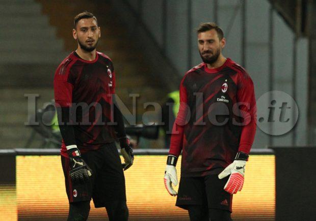 Milan-Inter: si ferma Storari nel riscaldamento, chance per Antonio Donnarumma