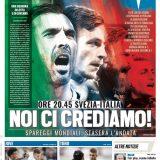 """FOTO – Tuttosport in prima pagina: """"Noi ci crediamo!"""""""