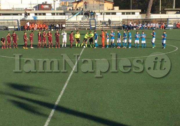 RILEGGI IL LIVE – Under 16 A e B, Napoli-Salernitana 3-0 (7′ Musella, 14′ Virgilio, 29′ st Cioffi): Tris Azzurro