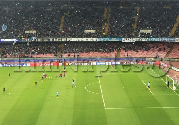 Ssc Napoli – Venduti già 32mila biglietti per la partita di sabato alle 15.00