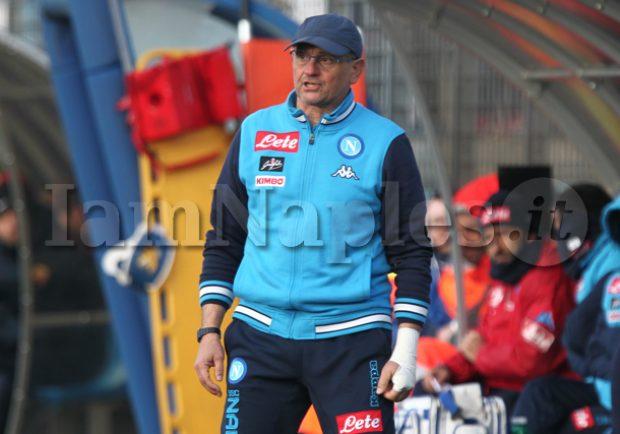 """Napoli Primavera, Beoni: """"Affrontare l'Inter sarà impegnativo. I ragazzi stanno migliorando, ma il percorso di crescita è lungo"""""""