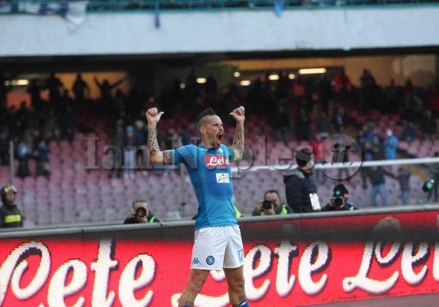 Napoli-Sampdoria 3-2, le pagelle di IamNaples.it: Mertens e Insigne incantano, Hamsik nella storia