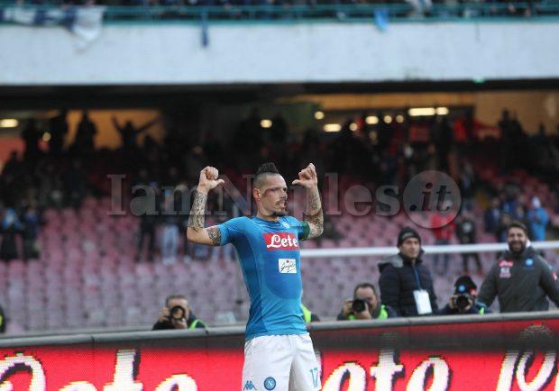 FOTO SEQUENZA – Hamsik nella storia! Miglior marcatore di sempre del Napoli