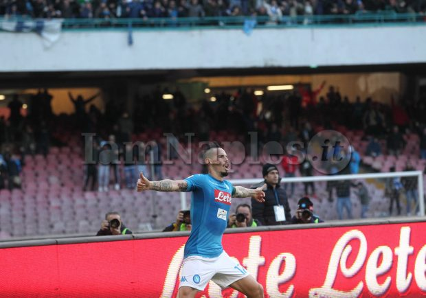 """Marek Hamsik dopo il record: """"Ancora non mi rendo conto di quello che ho fatto. Il Napoli è tornato"""""""