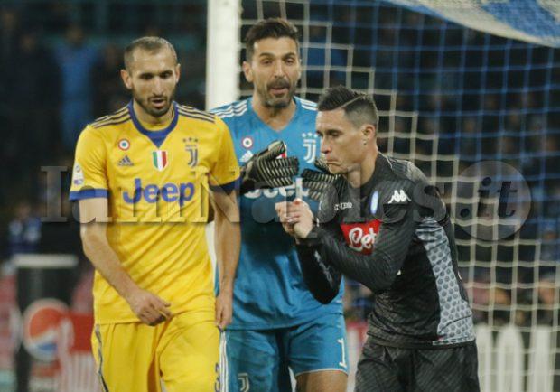 """FOTO – Juventus, Chiellini: """"Contro la Roma vittoria di cuore e di carattere"""""""