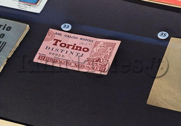FOTO – MANN, in esposizione il biglietto dell'ultima partita del Grande Torino