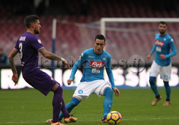SKY – Napoli, chieste informazioni alla Fiorentina per Biraghi