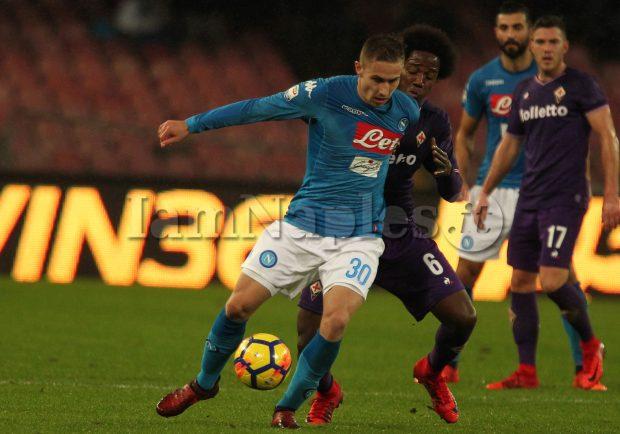 GRAFICO – Tim Cup, Napoli-Udinese, sei cambi per Sarri. Rog e Ounas verso il debutto dal primo minuto