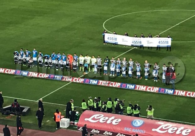 RILEGGI IL LIVE – Tim Cup, Napoli-Udinese 1-0: azzurri ai Quarti, decide la rete di Insigne nella ripresa