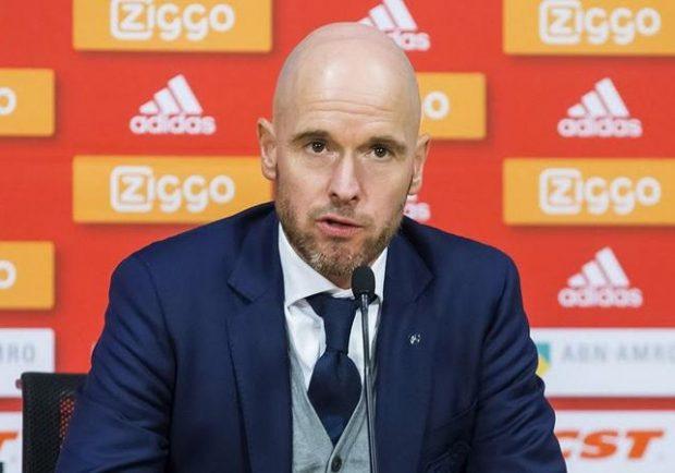 UFFICIALE – Ajax, è Ten Hag il nuovo tecnico