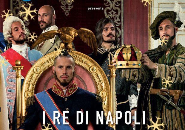 """FOTO – In edicola il calendario 2018 degli azzurri, la Ssc Napoli: """"Buon Natale da I Re di Napoli"""""""