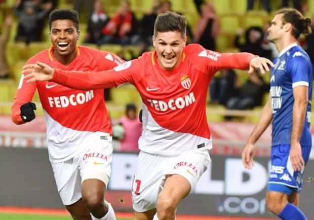 L'angolo della Ligue 1: Monaco, Carrillo ribalta il risultato in tre minuti contro il Troyes. Continua la corsa a tre per il secondo posto