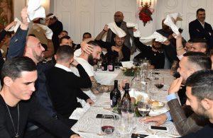 PHOTOGALLERY – Gli scatti ufficiali della SSC Napoli alla cena di Natale degli azzurri