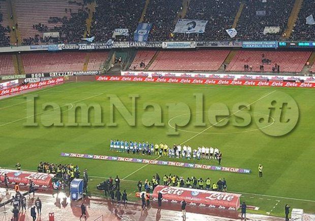 RILEGGI IL LIVE – Coppa Italia,Napoli-Atalanta 1-2 (50′ Castagne, 81′ Gomez, 84′ Mertens), azzurri eliminati dalla Coppa