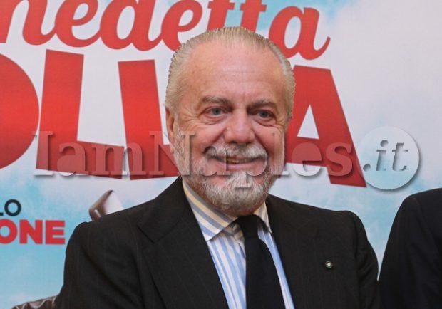 """De Laurentiis: """"Rapporti col Benevento? Stimo Vigorito e gli proposi Pavoletti, ma lui non era interessato"""""""