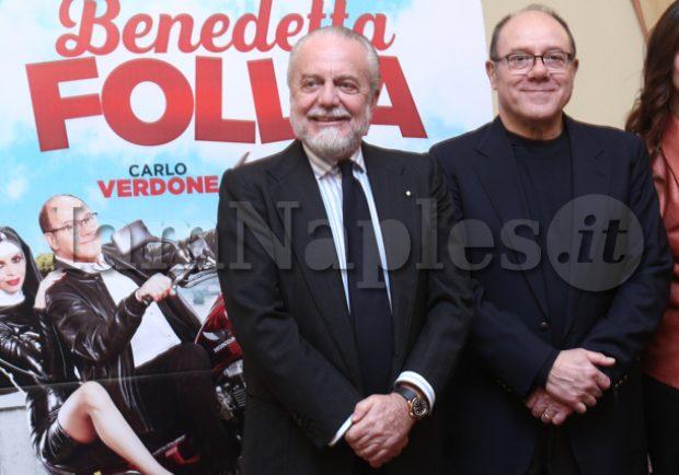 """PHOTOGALLERY – Presentazione """"Benedetta Follia"""", De Laurentiis all'Hotel Vesuvio: ecco gli scatti di Iamnaples.it"""