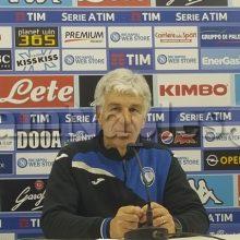"""Atalanta, Gasperini: """"Stasera è stata una gara difficile, qualcuno era un po' stanco dopo il match del San Paolo"""""""
