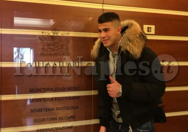 VIDEO ESCLUSIVO – Machach lascia Villa Stuart, è pronto a firmare il contratto con il Napoli