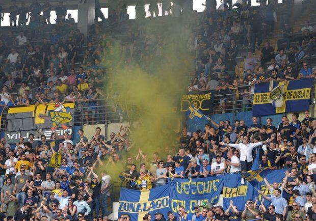 Giudice Sportivo – Un turno di squalifica alla Curva Sud dell'Hellas Verona per cori razzisti