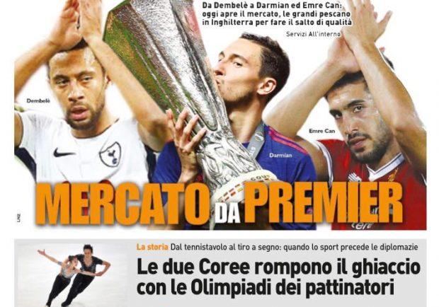 """FOTO – QS: """"Che Atalanta! Napoli eliminato"""""""