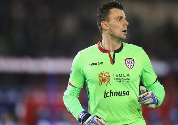 Cagliari, rinnova Rafael: per il portiere ex Verona prolungamento fino al 2019