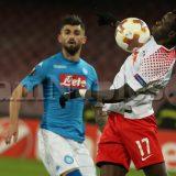 VIDEO – Napoli-Lipsia 1-2: Bruma firma la rete del sorpasso per i tedeschi